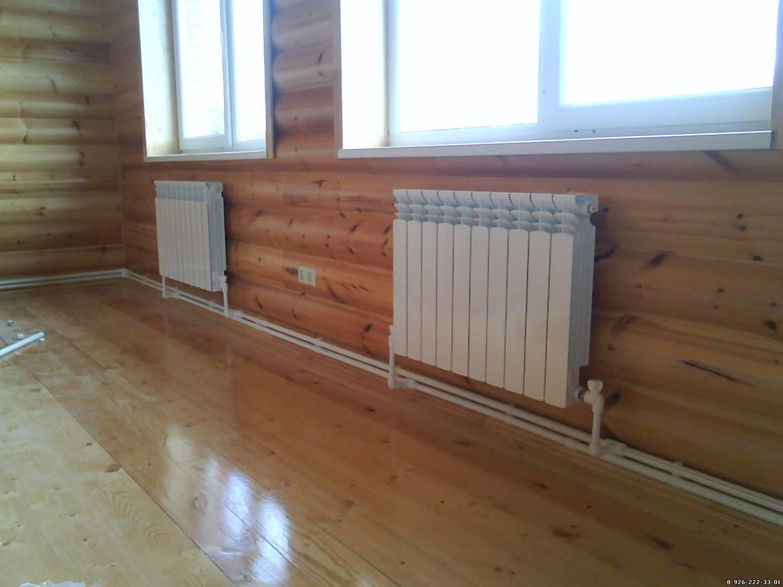 Как правильно делать отопление в доме фото